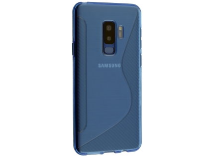 Wave Case for Samsung Galaxy S9+ - Blue Soft Cover