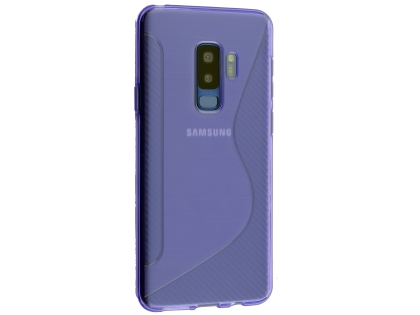 Wave Case for Samsung Galaxy S9+ - Purple Soft Cover