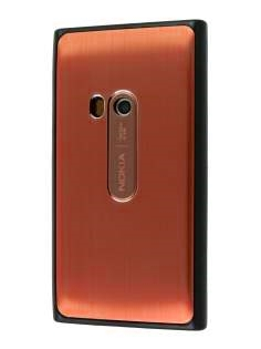 Brushed Aluminium Case for Nokia N9 - Bronze Hard Case