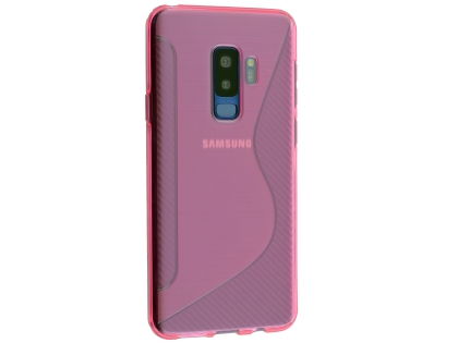 Wave Case for Samsung Galaxy S9+ - Pink Soft Cover