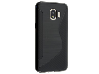 Wave Case for Samsung Galaxy J2 Pro (2018) - Black Soft Cover