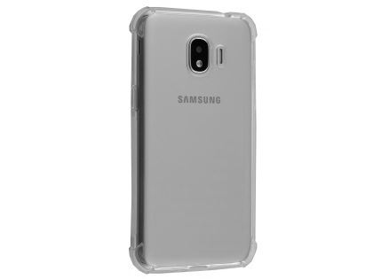 Gel Case with Bumper Edges for Samsung Galaxy J2 Pro (2018) - Clear Soft Cover