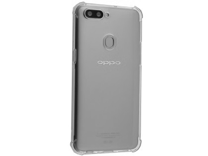 Gel Case with Bumper Edges for OPPO R11s - Clear Soft Cover