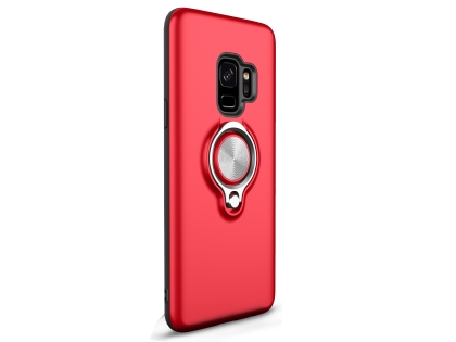 Impact Case With Ring Holder for S9 - Red Impact Case