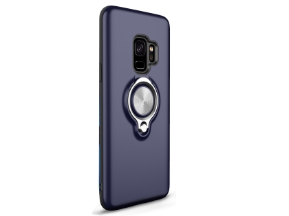 Impact Case With Ring Holder for S9 - Navy Impact Case