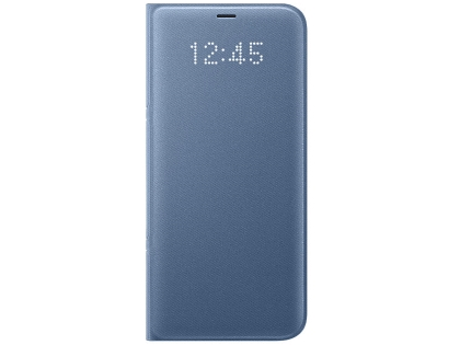Genuine Samsung Galaxy S8+ LED View Cover - Blue S View Cover