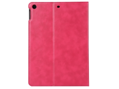 Synthetic Leather Case with Stand for iPad Mini 1/2/3 - Pink