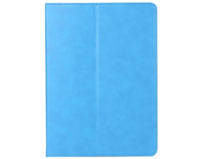 Synthetic Leather Case with Stand for iPad Mini 1/2/3 - Blue