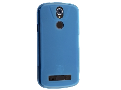 Frosted Colour TPU Gel Case for the Telstra Tough Max 2 - T85 - Blue Soft Cover