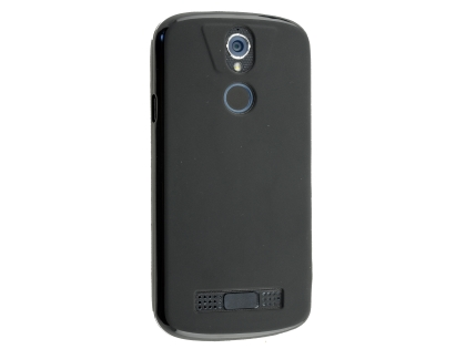 Frosted Colour TPU Gel Case for the Telstra Tough Max 2 - T85 - Black Soft Cover