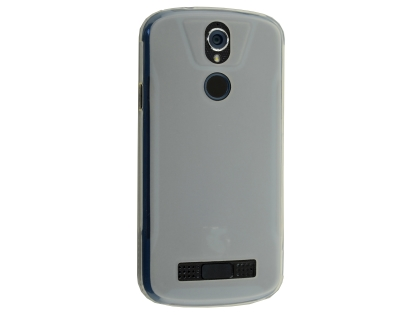Frosted Colour TPU Gel Case for the Telstra Tough Max 2 - T85 - Clear Soft Cover