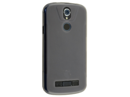 Frosted Colour TPU Gel Case for the Telstra Tough Max 2 - T85 - Grey Soft Cover
