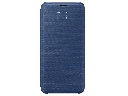 Genuine Samsung Galaxy S9 LED View Cover - Blue S View Cover