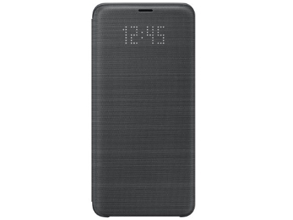 Genuine Samsung Galaxy S9+ LED View Cover - Black S View Cover