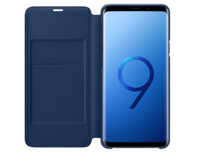 Genuine Samsung Galaxy S9+ LED View Cover - Blue