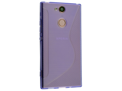 Wave Case for Sony Xperia XA2 - Purple Soft Cover