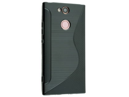 Wave Case for Sony Xperia XA2 - Black Soft Cover