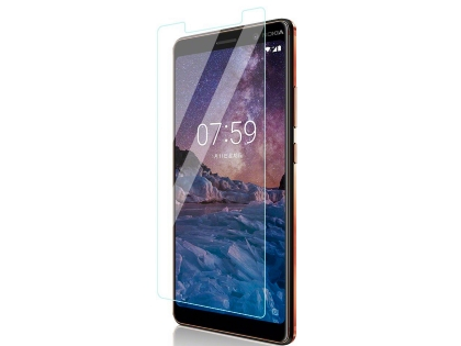 Flat Tempered Glass Screen Protector for Nokia 7 Plus - Screen Protector