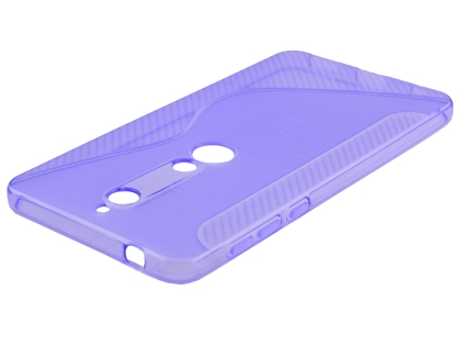Wave Case for Nokia 6.1 (2018) - Purple Soft Cover