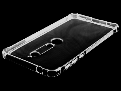 Gel Case with Bumper Edges for Nokia 6.1 (2018) - Clear Soft Cover