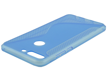 Wave Case for Huawei Y7 Prime (2018) - Blue Soft Cover