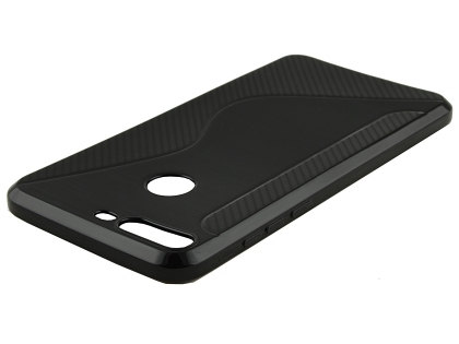 Wave Case for Huawei Y7 Prime (2018) - Black Soft Cover