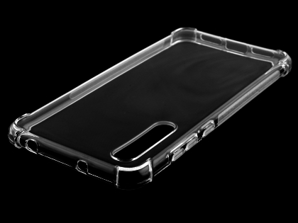 Gel Case with Bumper Edges for Huawei P20 Pro - Clear Soft Cover
