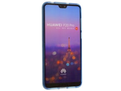 Wave Case for Huawei P20 Pro - Blue Soft Cover