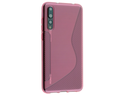 Wave Case for Huawei P20 Pro - Pink Soft Cover