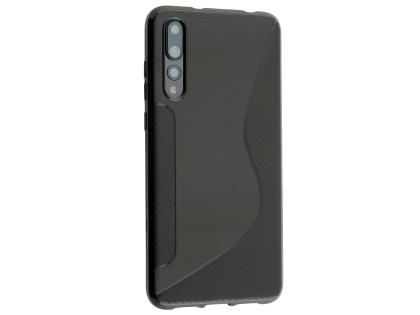 Wave Case for Huawei P20 Pro - Black Soft Cover