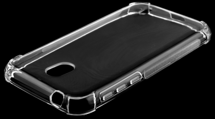 Gel Case with Bumper Edges for Nokia 1 - Clear Soft Cover