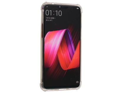 Gel Case with Bumper Edges for OPPO R15 Pro - Clear Soft Cover
