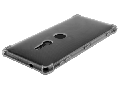 Gel Case with Bumper Edges for Sony Xperia XZ2 - Clear Soft Cover