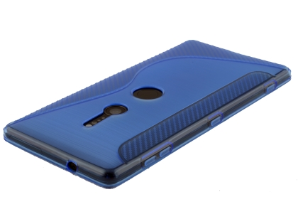 Wave Case for Sony Xperia XZ2 - Blue Soft Cover