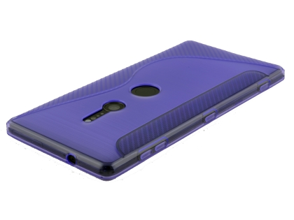 Wave Case for Sony Xperia XZ2 - Purple Soft Cover