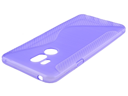 Wave Case for LG G7 ThinQ - Purple Soft Cover