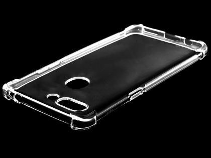 Gel Case with Bumper Edges for OPPO R15 Pro - Clear