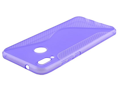 Wave Case for Huawei Nova 3e - Purple Soft Cover