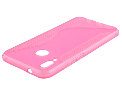 Wave Case for Huawei Nova 3e - Pink Soft Cover