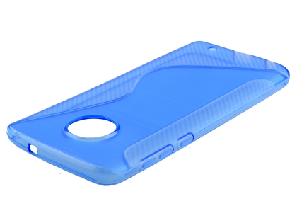 Wave Case for Motorola Moto G6 - Blue Soft Cover