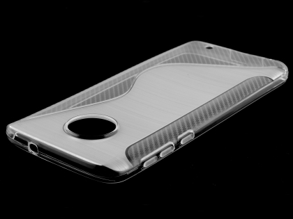 Wave Case for Motorola Moto G6 - Clear Soft Cover