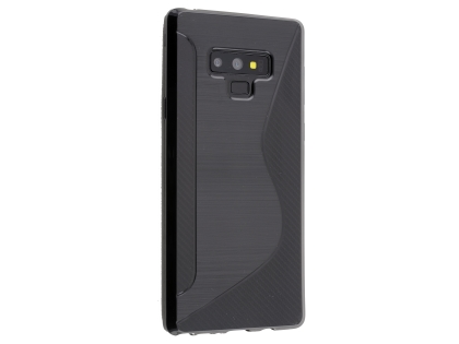 Wave Case for Samsung Galaxy Note9 - Black Soft Cover