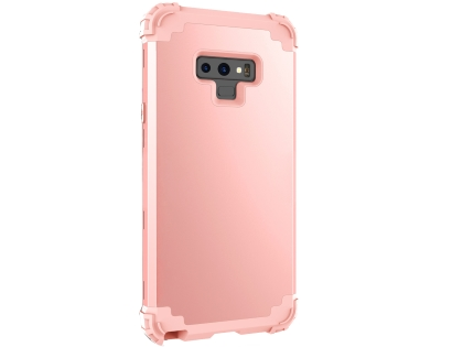 Defender Case for Note9 - Metallic Pink Impact Case