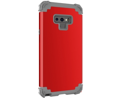 Defender Case for Note9 - Red Impact Case