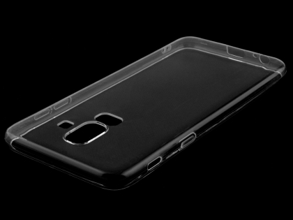 Ultra Thin Gel Case for Samsung Galaxy J8 - Clear Soft Cover