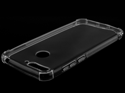 Gel Case with Bumper Edges for Huawei Y6 (2018) - Clear Soft Cover