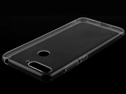 Ultra Thin Gel Case for Huawei Y6 (2018) - Clear Soft Cover