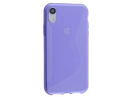 Wave Case for Apple iPhone XR - Purple Soft Cover