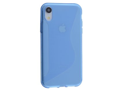 Wave Case for Apple iPhone XR - Blue Soft Cover