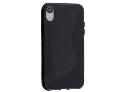Wave Case for Apple iPhone XR - Black Soft Cover